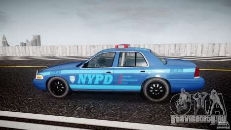 Ford Crown Victoria 2003 Noose v2.1 для GTA 4 вид слева