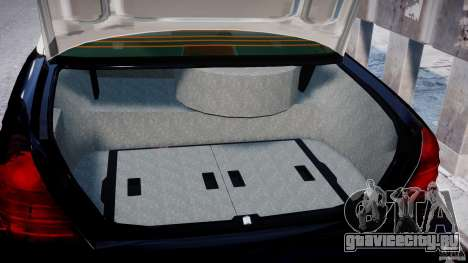 Ford Crown Victoria Massachusetts Police [ELS] для GTA 4 вид изнутри