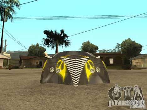 Thunderbold SlapJack для GTA San Andreas вид сзади