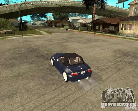 BMW Z3 Roadster для GTA San Andreas вид слева