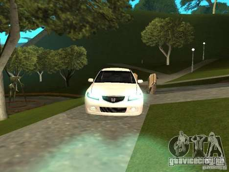Honda Accord Type S 2003 для GTA San Andreas вид справа