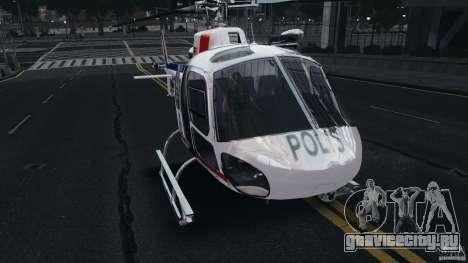 Eurocopter AS350 Ecureuil (Squirrel) Malaysia для GTA 4 вид слева