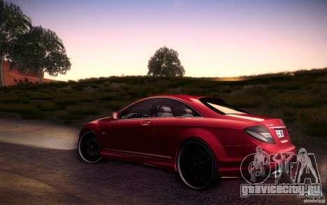 Mercedes Benz CL65 AMG для GTA San Andreas вид слева