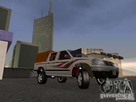 Nissan Pickup для GTA San Andreas вид слева