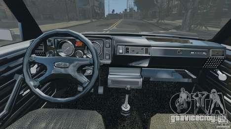 ВАЗ-21043 v1.0 для GTA 4 вид сзади