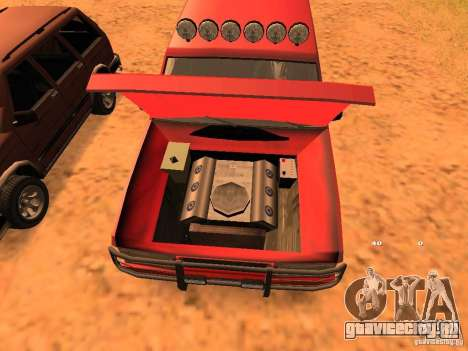 Huntley Superior для GTA San Andreas вид сбоку