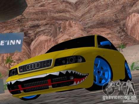 Audi S4 DatShark 2000 для GTA San Andreas вид сбоку