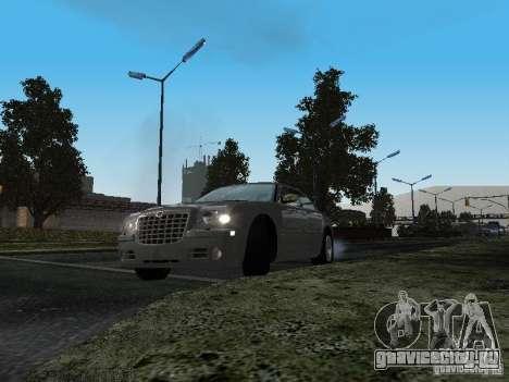 Chrysler 300C HEMI 5.7 2009 для GTA San Andreas вид сзади