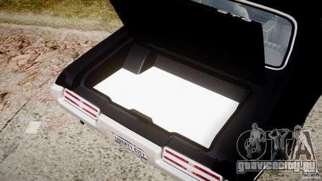 Pontiac GTO Judge для GTA 4 вид сбоку