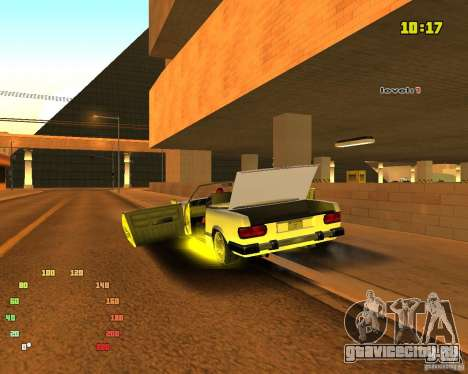 Extreme Car Mod SA:MP version для GTA San Andreas пятый скриншот