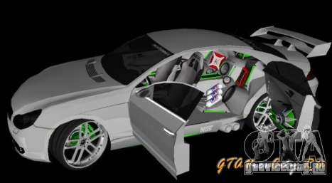 Mercedes-Benz CLS500 The GreenFairy TUNING для GTA San Andreas