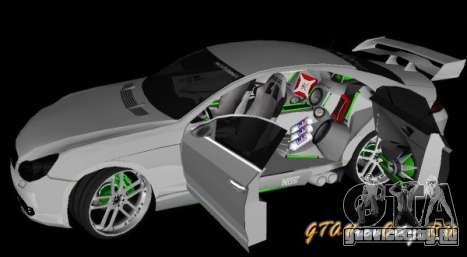 Mercedes-Benz CLS500 The GreenFairy TUNING для GTA San Andreas вид сзади слева