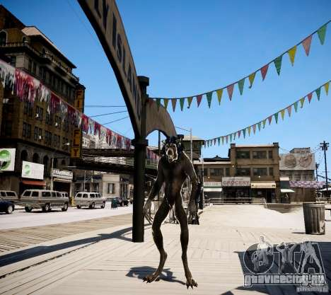 Werewolf from Skyrim для GTA 4 второй скриншот