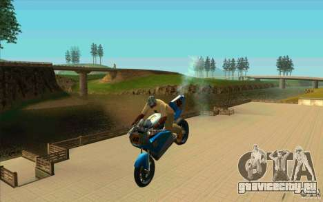 Невиданные трюки на NRG-500 для GTA San Andreas