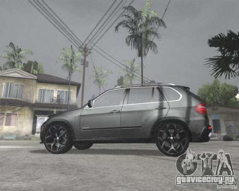 BMW X5 2009 Tune для GTA San Andreas вид слева