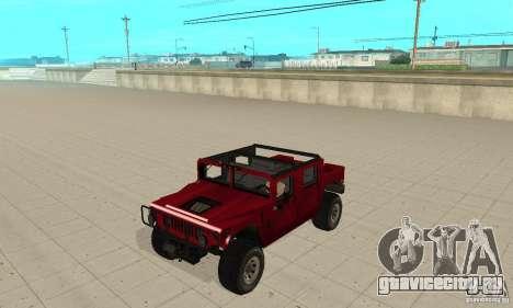Hummer Civilian Vehicle 1986 для GTA San Andreas