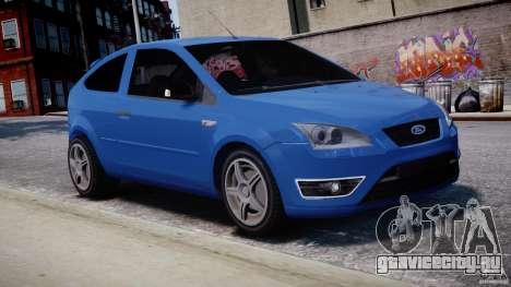 Ford Focus ST для GTA 4 вид сбоку