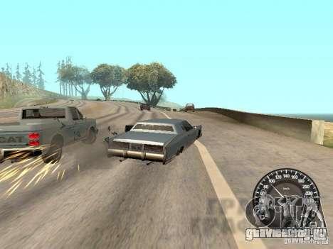 Спидометр Audi для GTA San Andreas четвёртый скриншот