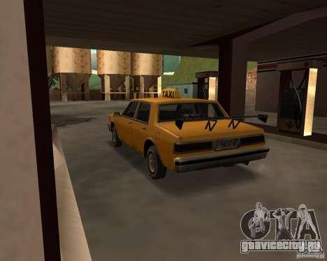 LV Taxi для GTA San Andreas вид справа