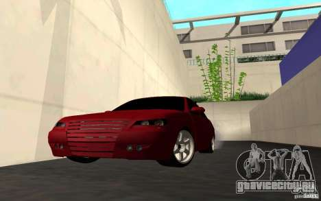 ЛАДА ПРИОРА хэтчбэк tuning для GTA San Andreas вид снизу
