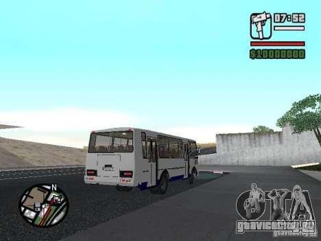 ПАЗ 4234 v1 для GTA San Andreas вид справа
