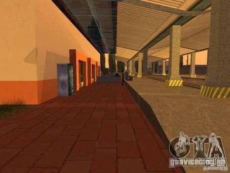 Unity Station для GTA San Andreas седьмой скриншот