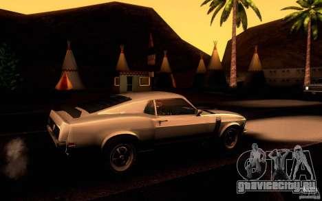 Ford Mustang Boss 302 для GTA San Andreas вид сбоку