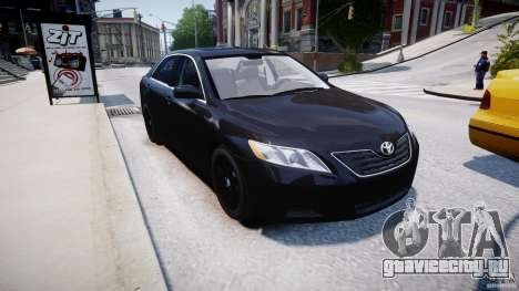 Toyota Camry 2007 (XV40) v1.0 для GTA 4 вид сбоку