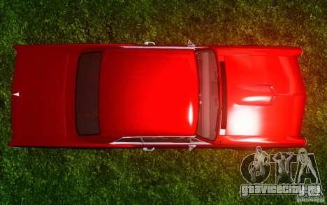 Pontiac GTO 1965 FINAL для GTA 4 вид снизу