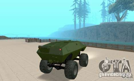 Trail Monster V.1.0 для GTA San Andreas вид слева