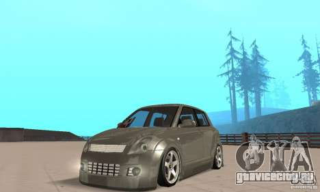 Suzuki Swift Tuning для GTA San Andreas