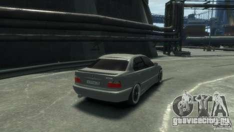 BMW 318i Light Tuning для GTA 4 вид справа