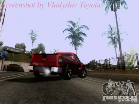 Chevrolet Cheyenne Single Cab для GTA San Andreas вид сбоку