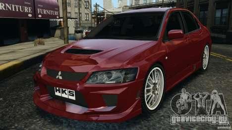 Mitsubishi Lancer Evolution 8 для GTA 4