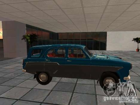 Москвич 423 для GTA San Andreas вид слева