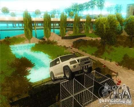 Off-Road Track для GTA San Andreas второй скриншот