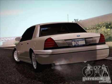Ford Crown Victoria Interceptor для GTA San Andreas вид справа
