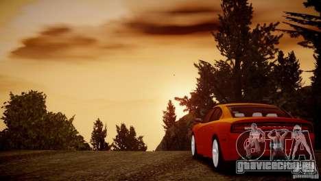 Dodge Charger R/T 2011 Max для GTA 4 вид изнутри