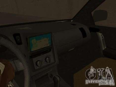 Opel Combo 2005 для GTA San Andreas вид сзади
