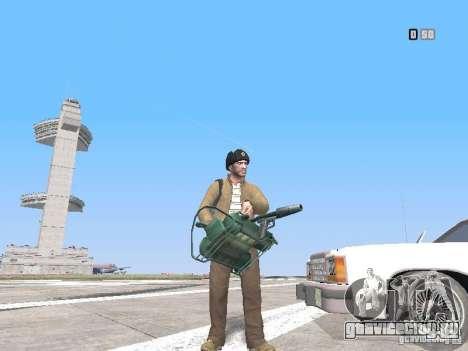 HQ Weapons pack V2.0 для GTA San Andreas шестой скриншот