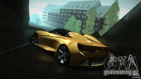 BMW Vision Connected Drive Concept для GTA San Andreas вид сзади слева