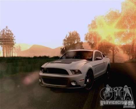 Optix ENBSeries Anamorphic Flare Edition для GTA San Andreas пятый скриншот