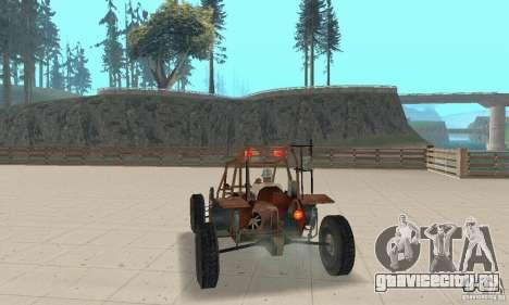 Half-Life Buggy для GTA San Andreas вид слева