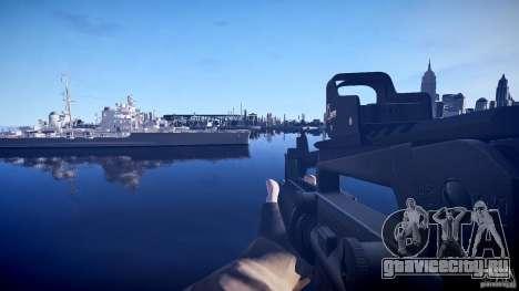 Новая М4 для GTA 4 третий скриншот