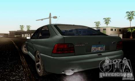 Ford Escort RS Cosworth для GTA San Andreas вид слева