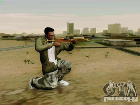 Рабочий арбалет со стрелами для GTA San Andreas четвёртый скриншот