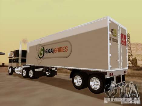Caband trailer для GTA San Andreas