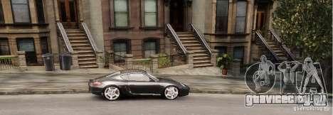 Porsche Cayman для GTA 4 вид сзади слева