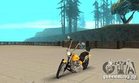Harley Davidson softail Skin 1 для GTA San Andreas