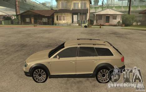 Audi Allroad Quattro для GTA San Andreas вид слева